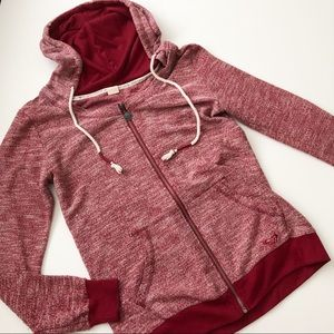Roxy brand hooded zip up jacket